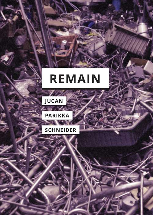 Remain: Art And War In Times Of Theatrical Reenactment (In Search of Media)