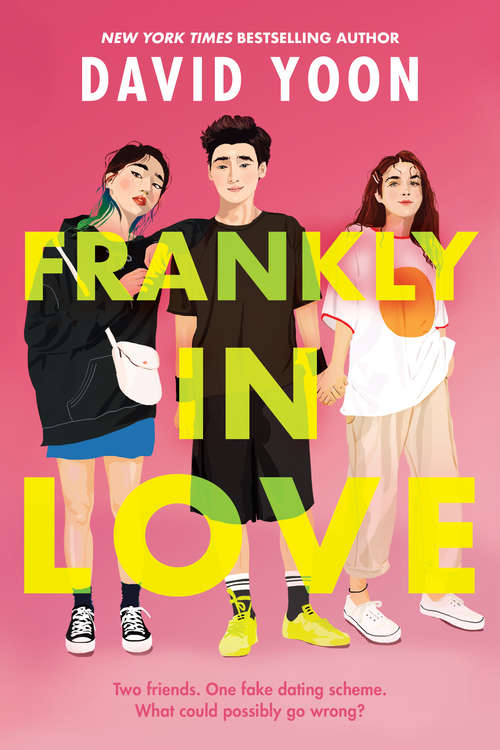 Collection sample book cover Frankly in Love by David Yoon