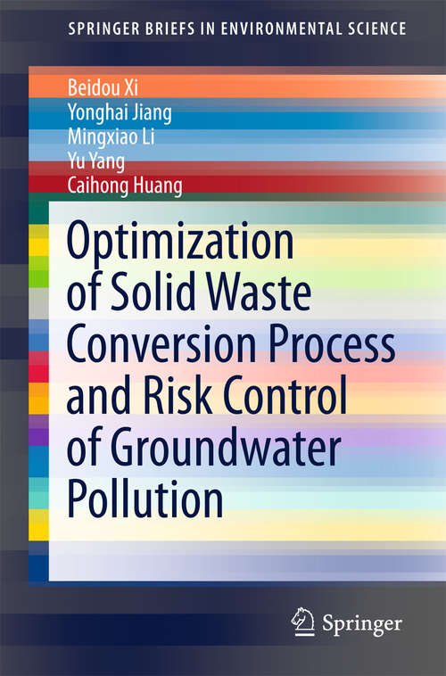 Optimization of Solid Waste Conversion Process and Risk Control of Groundwater Pollution