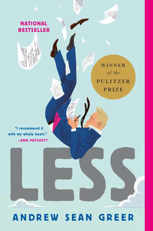 Collection sample book cover Less by Andrew Sean Greer