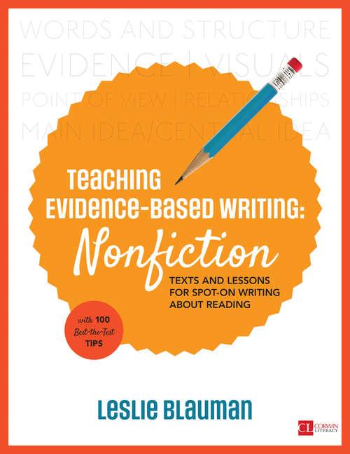 Teaching Evidence-Based Writing