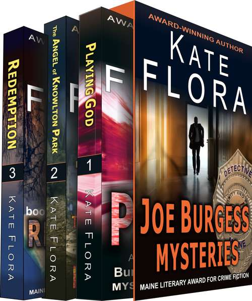 The Joe Burgess Mystery Series Boxed Set, Books 1 - 3: Three Full-Length Murder Mystery Thrillers (The Joe Burgess Mystery Series)