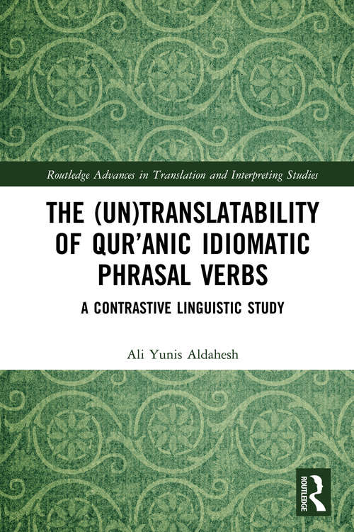 The: A Contrastive Linguistic Study (Routledge Advances in Translation and Interpreting Studies)