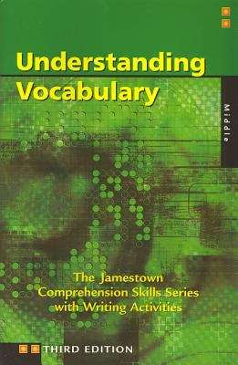 Understanding Vocabulary (The Jamestown Comprehension Skills Series)