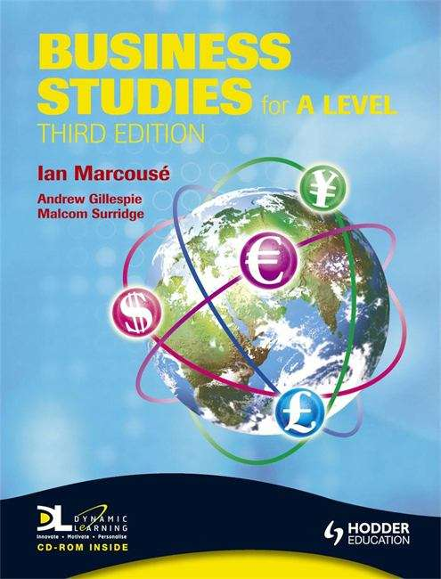Business Studies for A Level (3rd Edition)