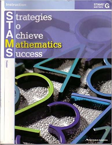 Strategies to Achieve Mathematics Success (STAMS Series G)