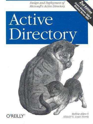 Active Directory, 2nd Edition