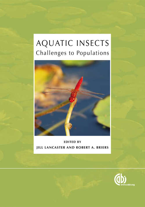 Aquatic Insects: Proceedings of the Royal Entomological Society's 24th Symposium