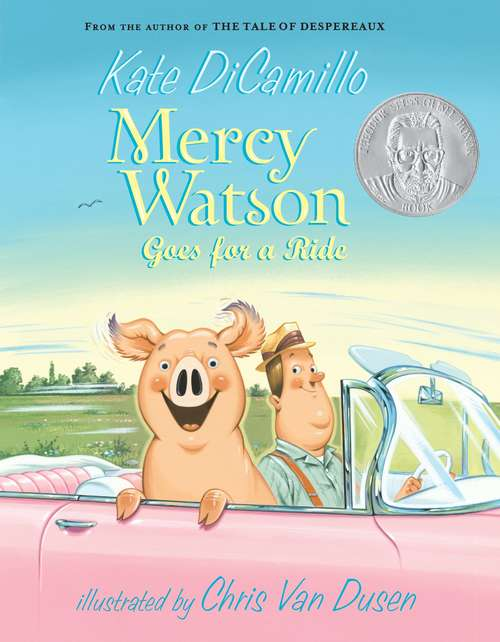 Collection sample book cover Mercy Watson Goes for a Ride by Kate DiCamillo