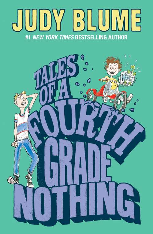 Collection sample book cover Tales of a Fourth Grade Nothing by Judy Blume