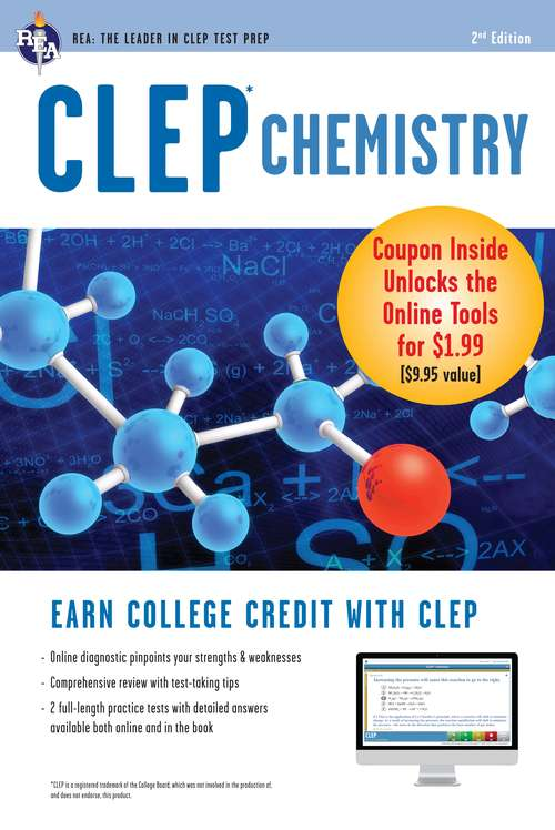 CLEP Chemistry Book + Online (CLEP Test Preparation)