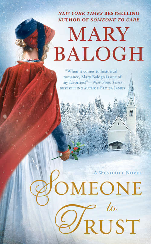 Collection sample book cover Someone to Trust by Mary Balogh