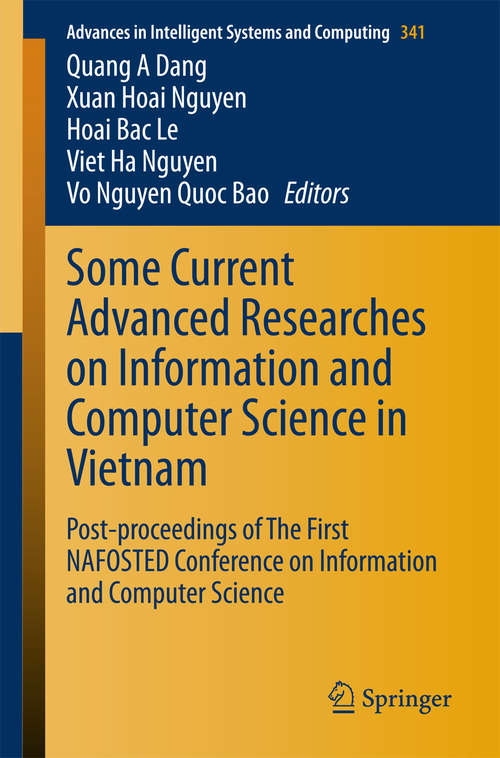 Some Current Advanced Researches on Information and Computer Science in Vietnam