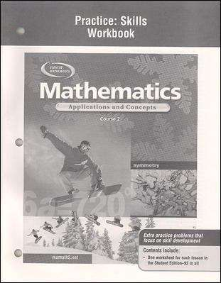 Glencoe Mathematics: Mathematics Applications and Concepts, Course 2 [Grade 7]
