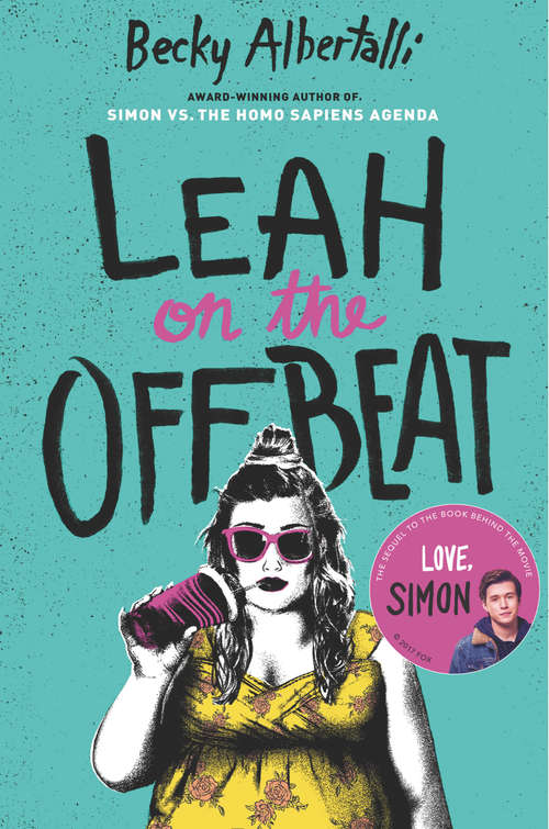 Collection sample book cover Leah on the Offbeat, a girl casually drinking through a straw