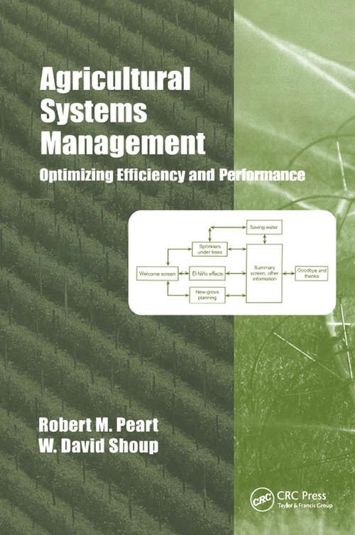 Agricultural Systems Management: Optimizing Efficiency and Performance