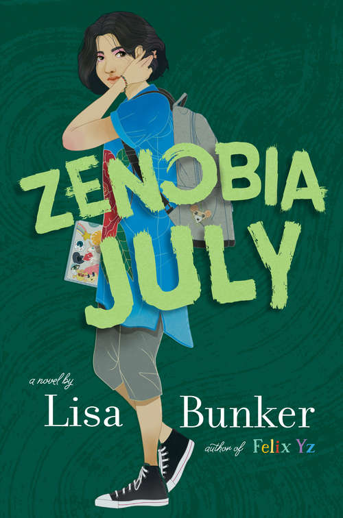 Collection sample book cover Zenobia July by Lisa Bunker