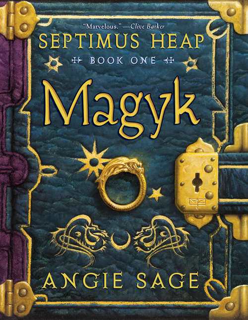 Magyk: Book One: Magyk, Book Two: Flyte, Book Three: Physik, Book Four: Queste, Book Five: Syren, Book Six: Darke, Book Seven: Fyre, The Magykal Papers, The Darke Toad (Septimus Heap #1)