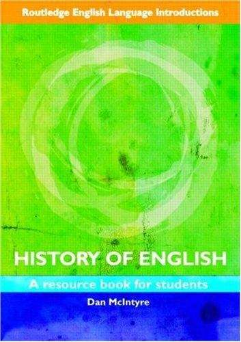 an introduction to the history of english language