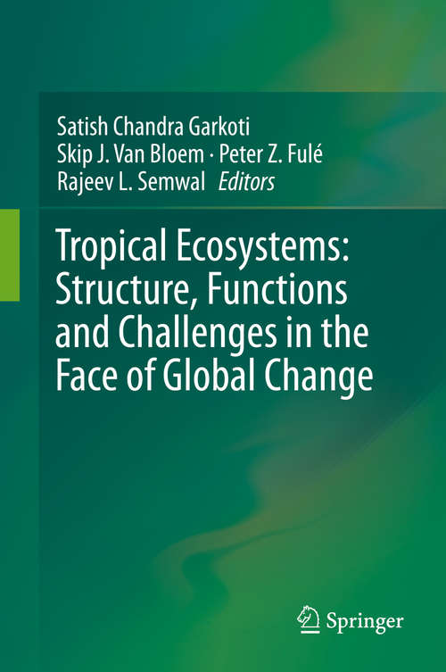 Tropical Ecosystems: Structure, Functions and Challenges in the Face of Global Change