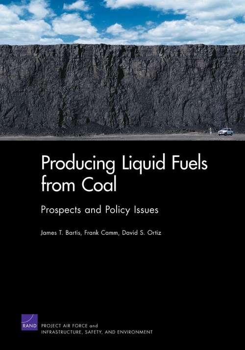Producing Liquid Fuels from Coal