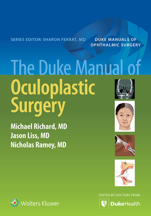The Duke Manual of Oculoplastic Surgery (M - Medicine Ser.)