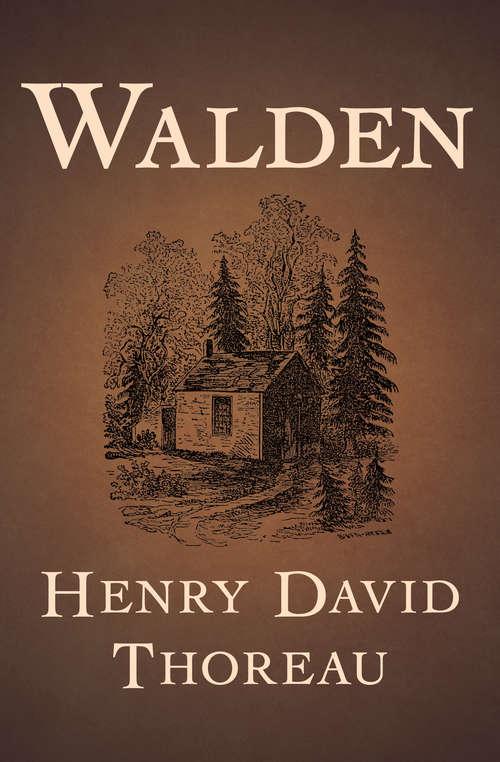 Walden: Large Print