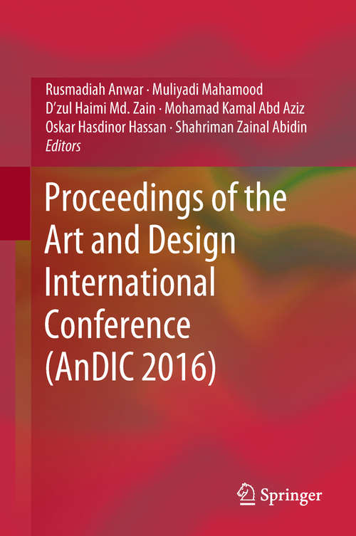 Proceedings of the Art and Design International Conference (AnDIC #2016)