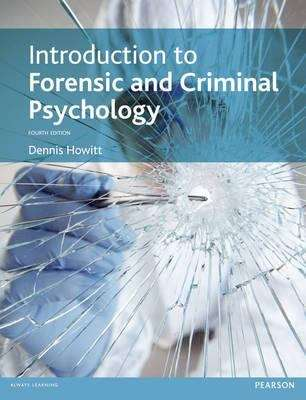 introduction to forensic and criminal psychology 4th edition pdf