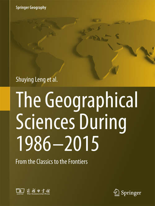 The Geographical Sciences During 1986—2015
