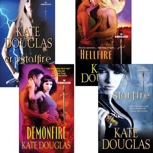 Kate Douglas Demon Slayer Bundle: Crystal Fire, Demonfire, Hellfire & Starfire