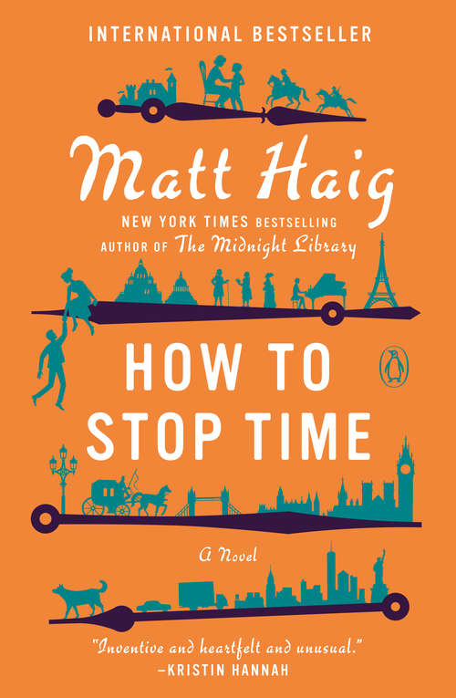 Collection sample book cover How to Stop Time- Matthew Haig