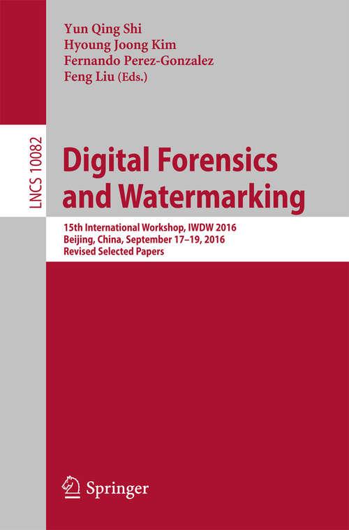 Digital Forensics and Watermarking