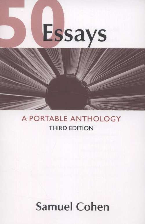 50 essays a portable anthology 2nd edition 50 essays a portable anthology 2nd edition table of contents if you may be interested to read this 50 essays a portable anthology 2nd edition table of contents.