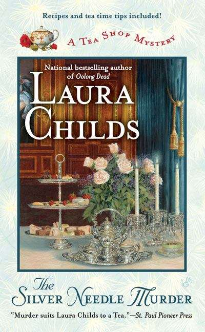 The Silver Needle Murder (A Tea Shop Mystery Series)