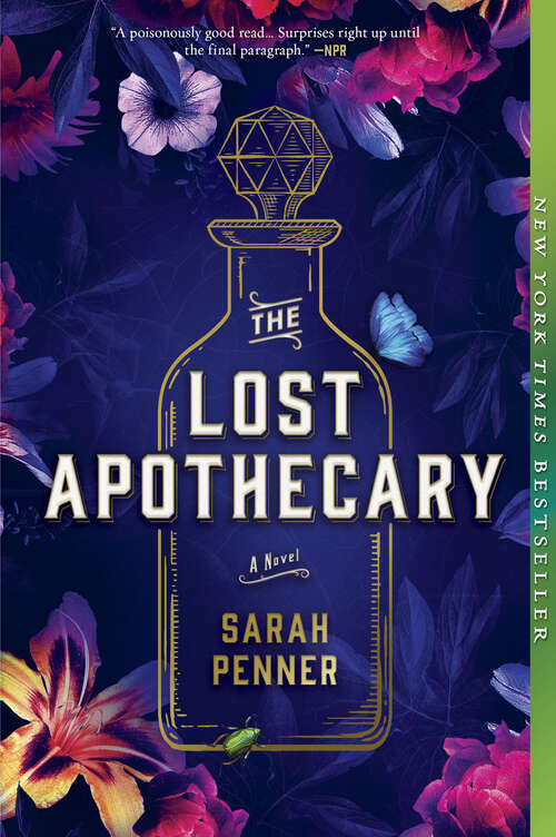 Collection sample book cover The Lost Apothecary by Sarah Penner