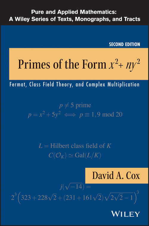 Primes of the Form x2 + ny2