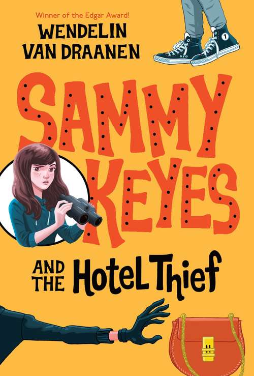 Collection sample book cover Sammy Keyes and the Hotel Thief