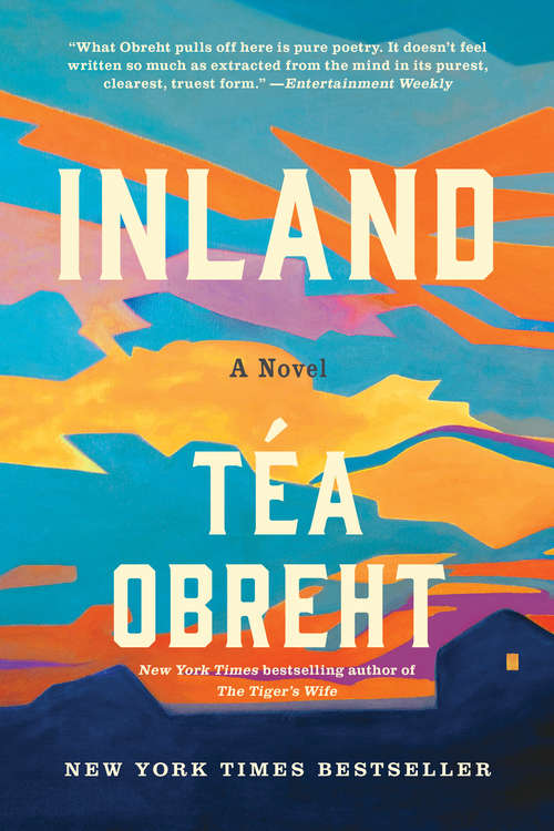 Collection sample book cover Inland: A Novel by Téa Obreht
