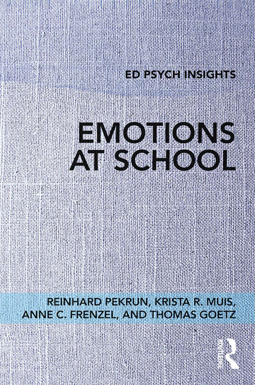 Emotions at School (Ed Psych Insights)