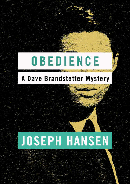 Obedience (Dave Brandstetter #10)