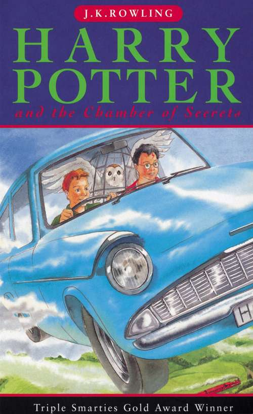 Harry Potter and the Chamber of Secrets (Harry Potter #2; British Edition)