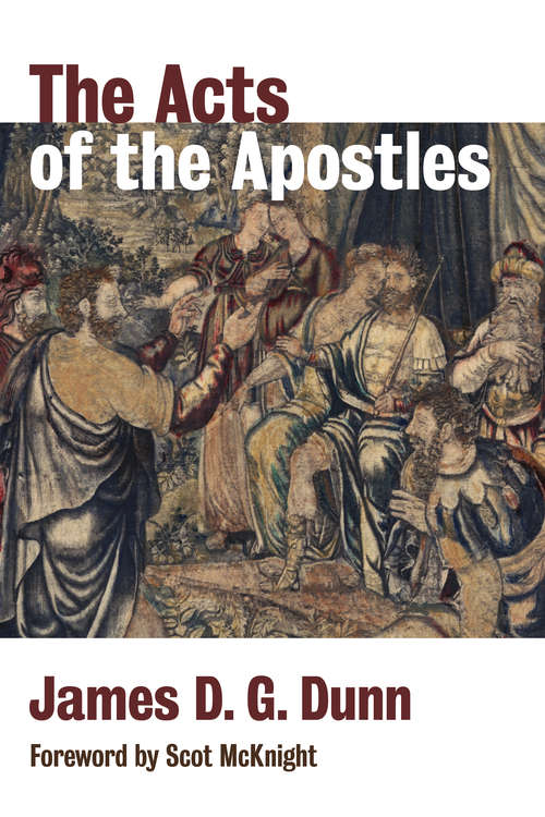 The Acts of the Apostles (New Testament Theology Ser.)