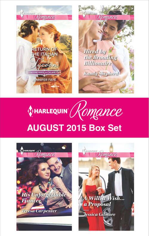 Harlequin Romance August 2015 Box Set