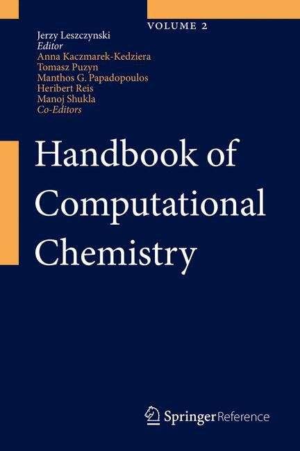 Handbook of Computational Chemistry