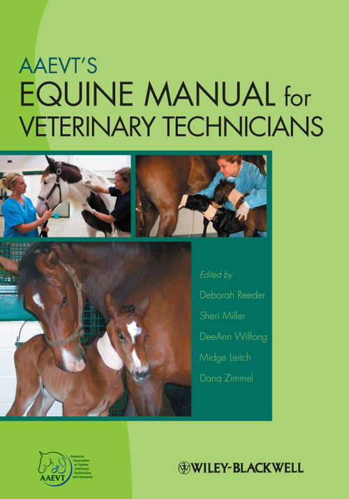 AAEVT's Equine Manual for Veterinary Technicians