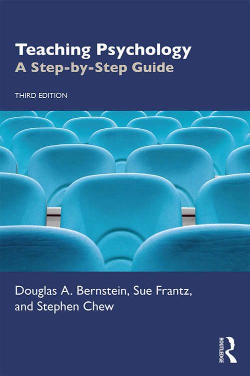 Teaching Psychology: A Step-by-Step Guide
