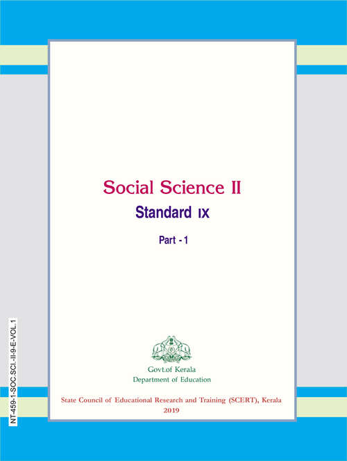 Social Science II (Part-1) 9th Standard S.C.E.R.T Kerala Board