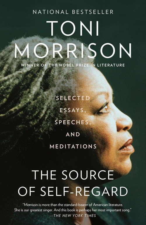 Collection sample book cover The Source of Self-Regard: Selected Essays, Speeches, and Meditations by Toni Morrison