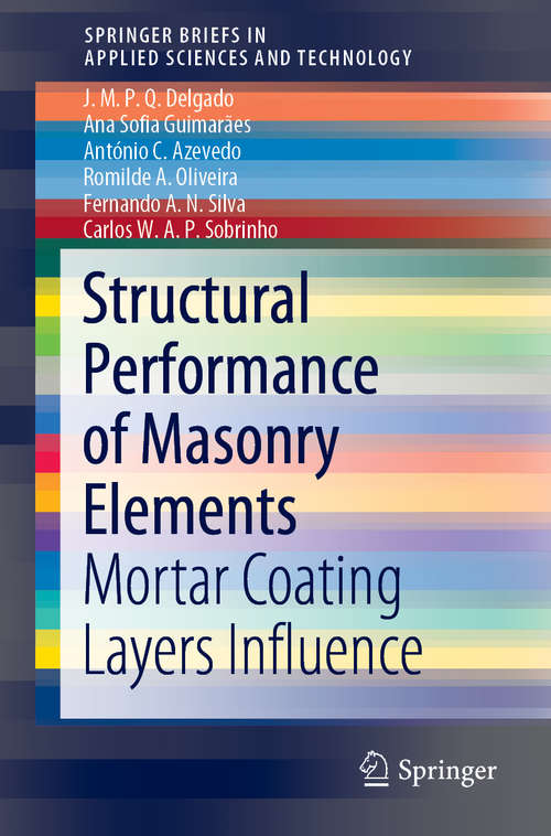 Structural Performance of Masonry Elements: Mortar Coating Layers Influence (SpringerBriefs in Applied Sciences and Technology)